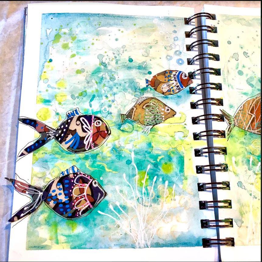 left side art journal