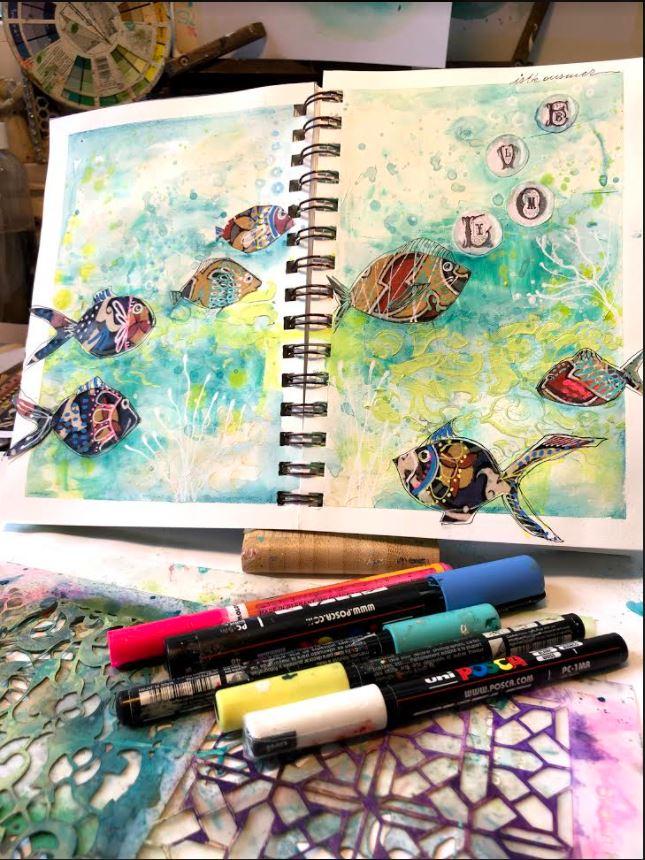 art journal finshed