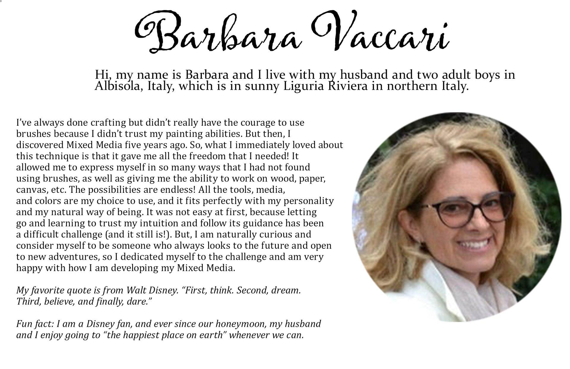 Barbara's details