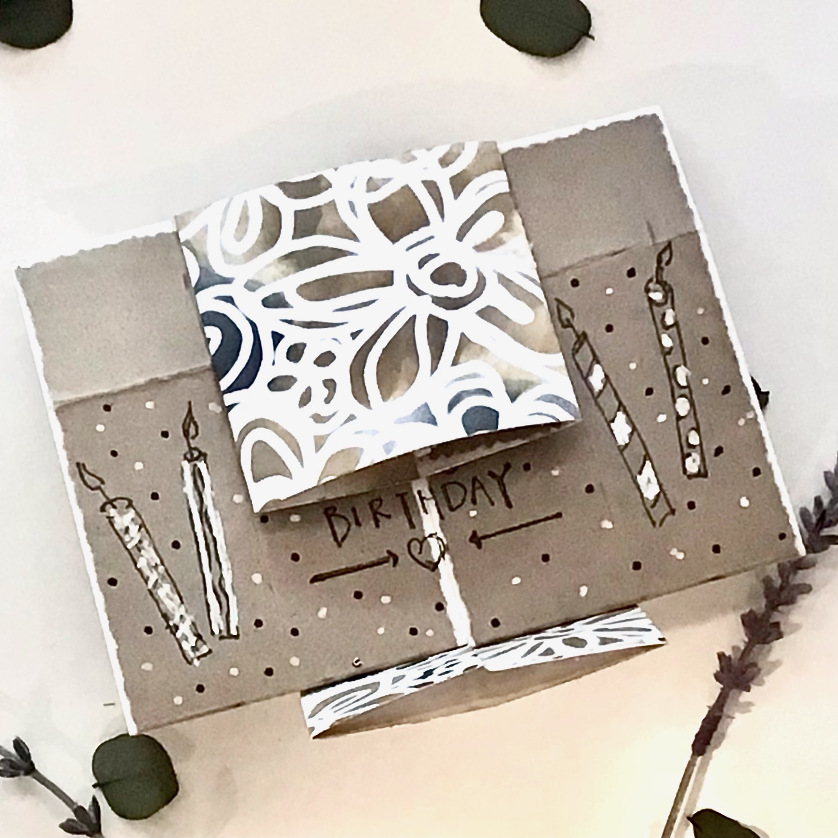 open project birthday card